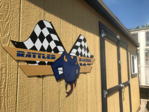 Image of Rattler Racing shed.
