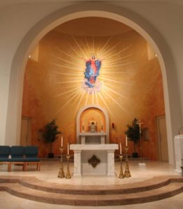 Assumption Chapel altar
