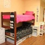 Bunk beds in Dougherty Hall