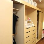 Twin dressers and closets in Dougherty Hal