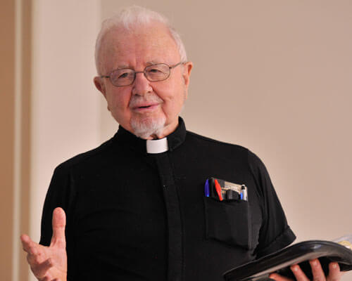 StMU Faculty Father George Montague