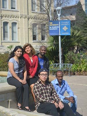 Image of international students
