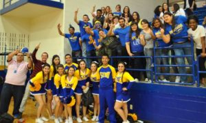 Rowdy Rattlers athletics cheering