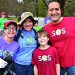 Samandi volunteering with SOS students