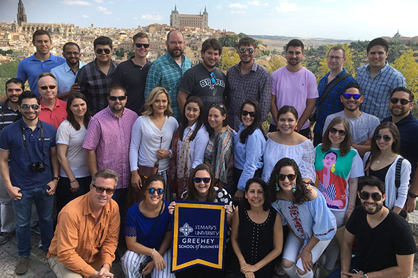 Greehey MBA students travel to Morocco and Spain