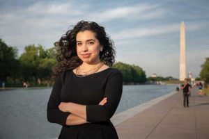 Erika Rendon, on the National Mall