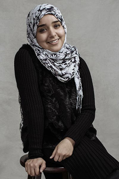 Malak Abouhenidi, the creator of the app