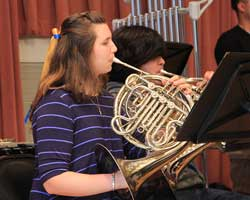 concert-band-french-horn-player