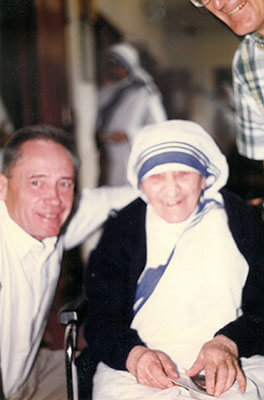 Father Jim Tobin and Mother Teresa