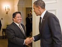 Cardenas meets President Barack Obama