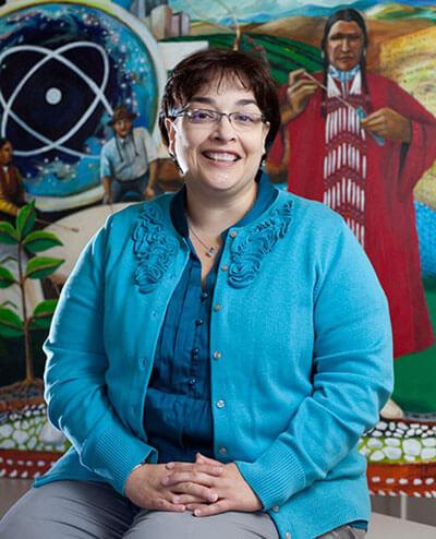 Tina Garza (B.S. '91)