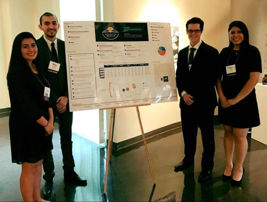 Business students finish 1st, 2nd, 3rd at national case competition