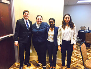 Business students shine at national competitions