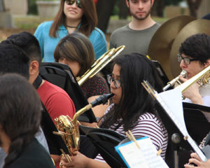 San Antonio band students play together