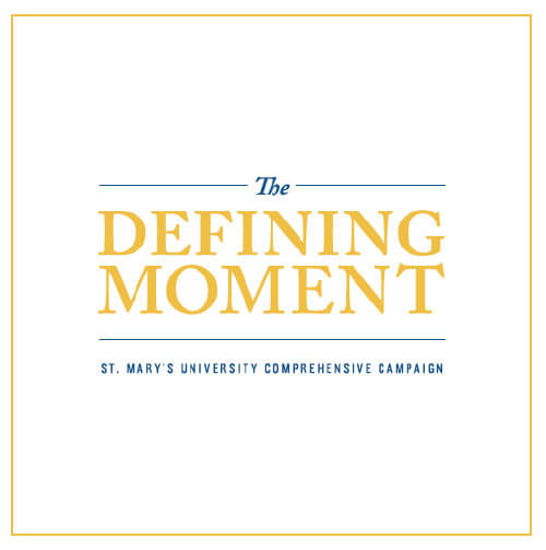 The Defining Moment - St. Mary's University Comprehensive Campaign cover