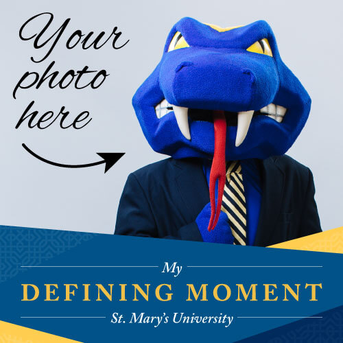 Your photo here inside the My Defining Moment Facebook frame