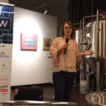 Kaitlyn Bloch at SA Pitch Tab Competition in November 2017.