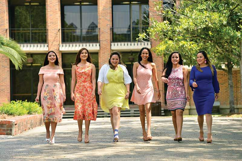 Riojas sisters attend St. Mary's University