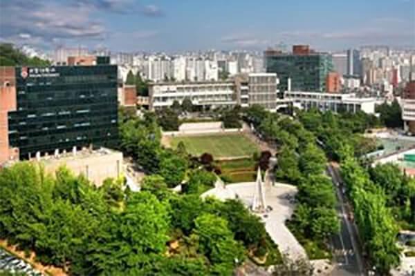 Cityscape in South Korea