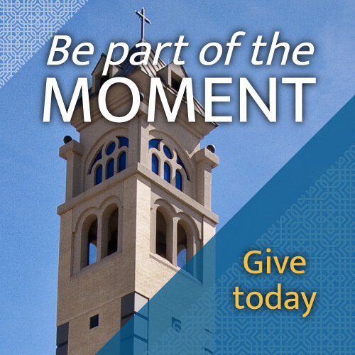 Be part of the moment - give today