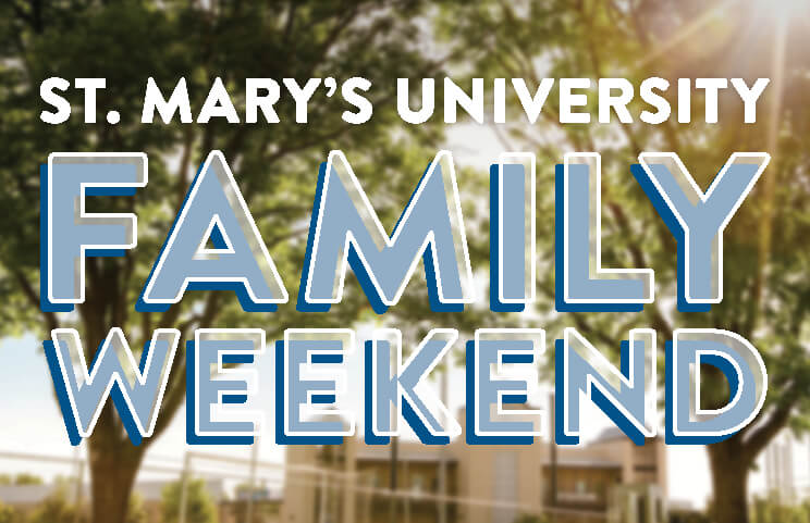 St. Mary's University Family Weekend