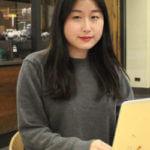 Marketing student Christy Chen