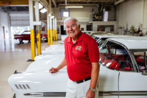 Business alum cherishes car collection, lifetime friendships