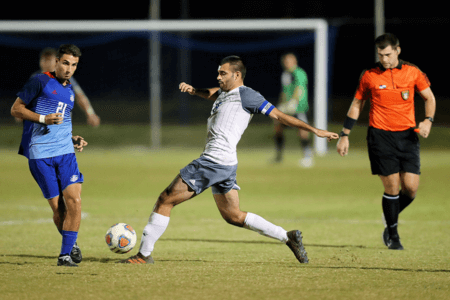 Soccer player Pato Botello Faz inks pro deal