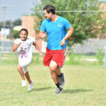 St. Mary's student Alexis Soto at a summer camp