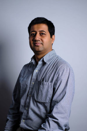 Sourav Roy, Ph.D., photoshoot