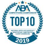 Top 10 2019 badge