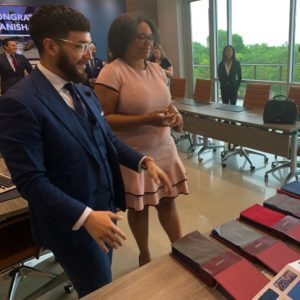 Law student who gives back surprised with custom suit in return