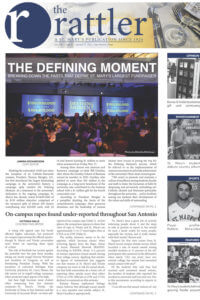The Rattler covers the Defining Moment Comprehensive Campaign dinner.
